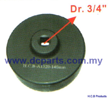 General Truck Repair Tools SPECIAL SOCKETS FOR TRUCK Dr. 3/4, 6 POINTS A1320